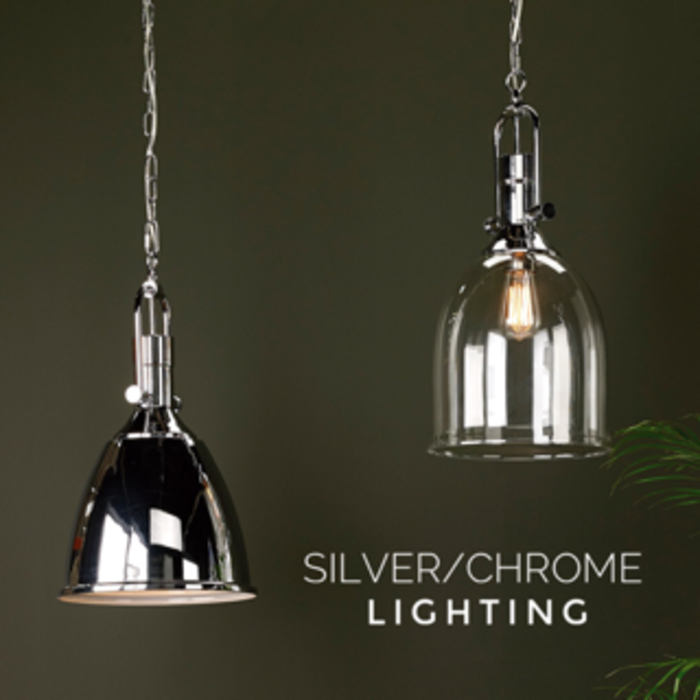 Silver/ Chrome Lighting