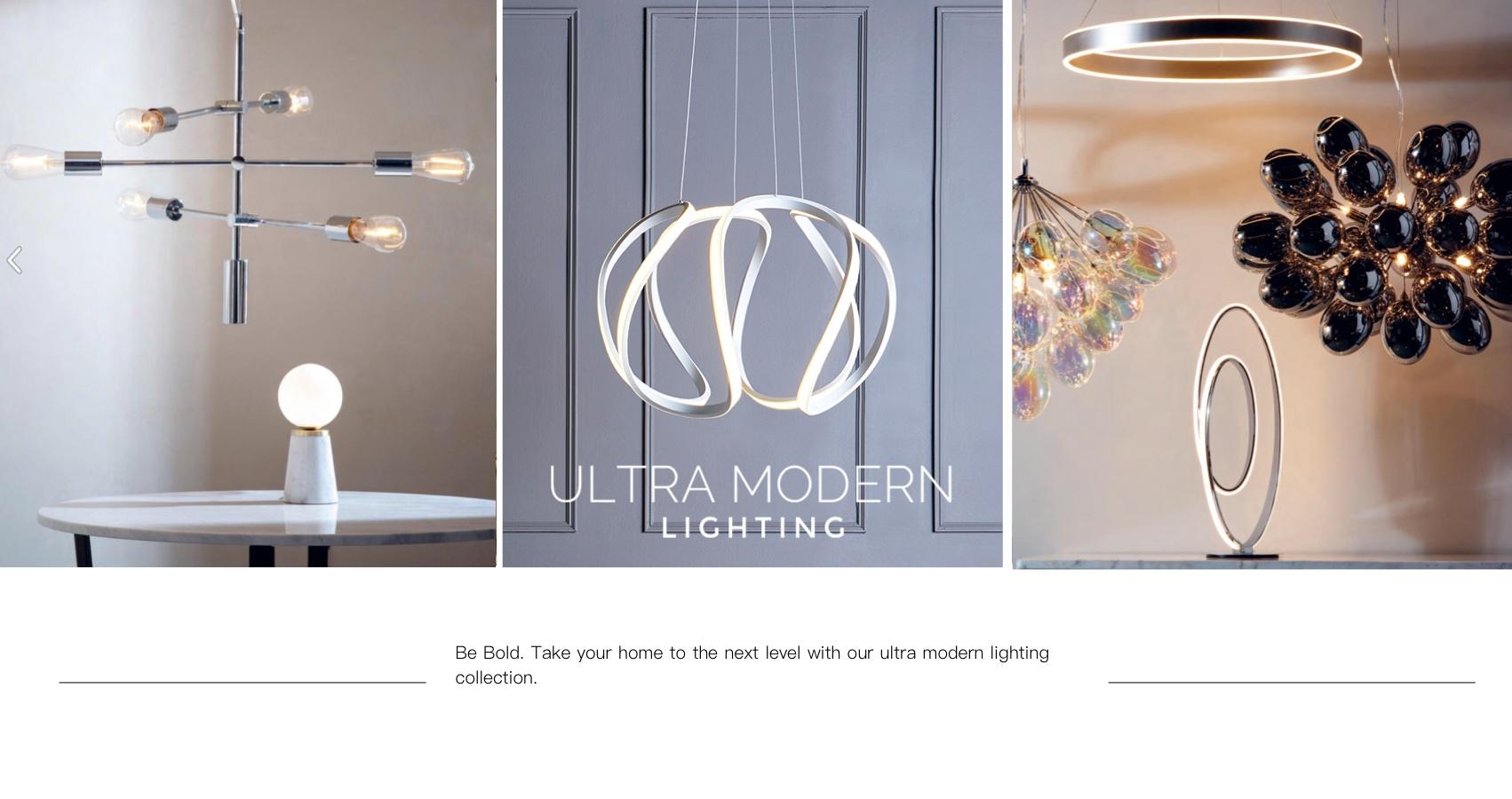 Ultra Modern Lighting Lightbox
