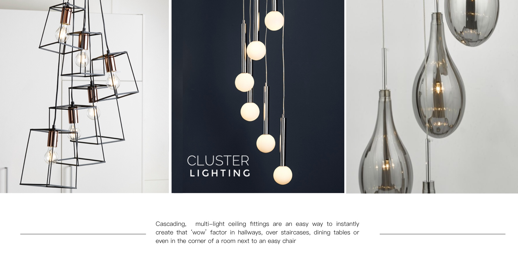 Cluster Light Fittings