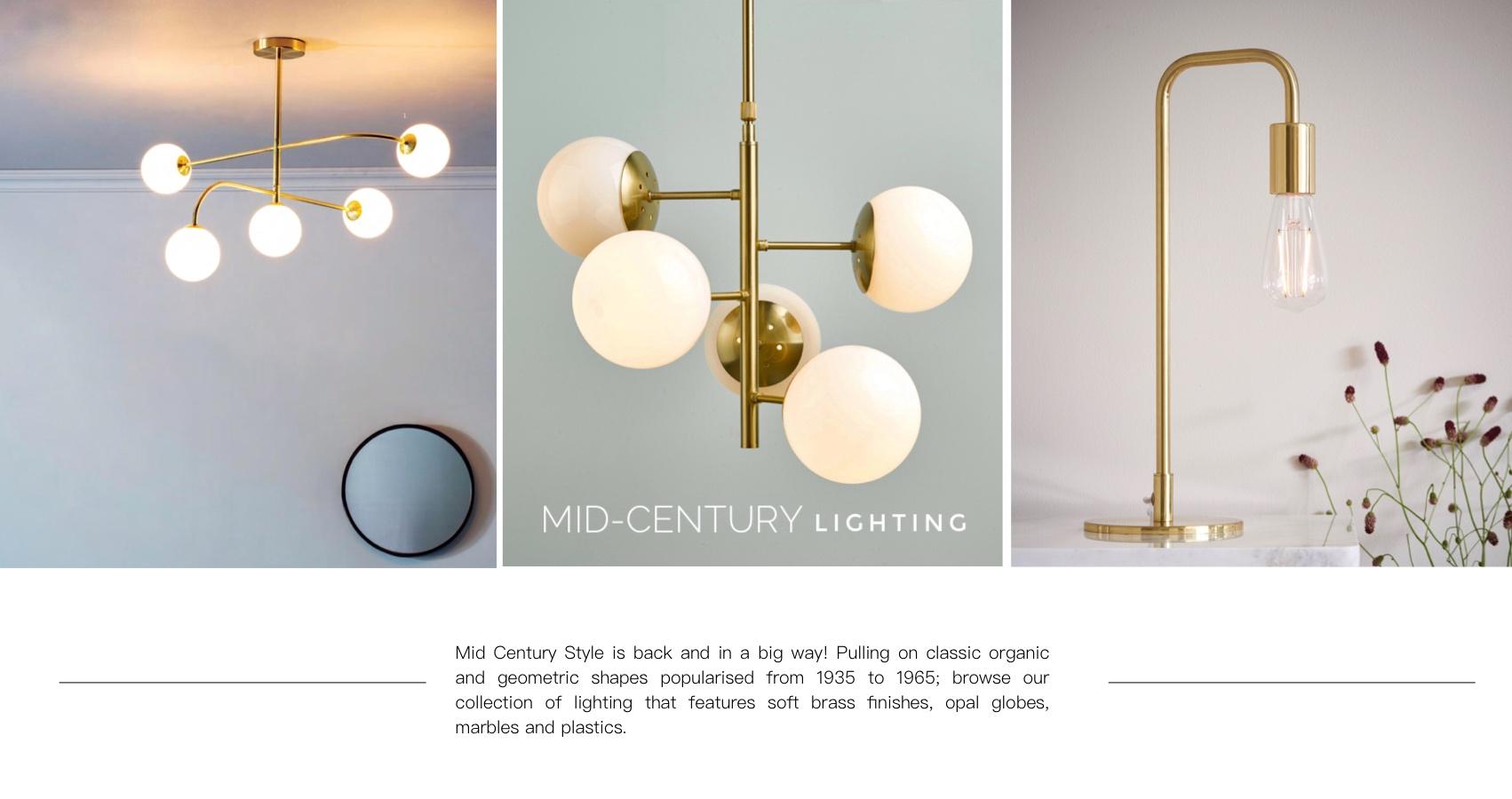 Mid Century Lighting Collection Lightbox