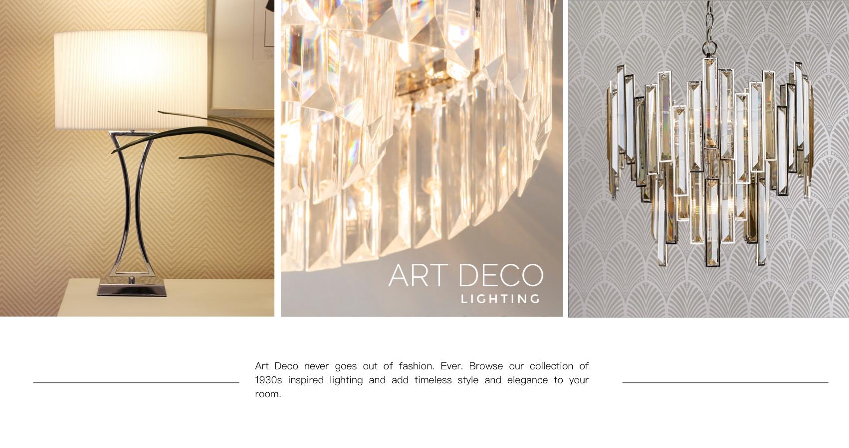 Art Deco Lighting UK