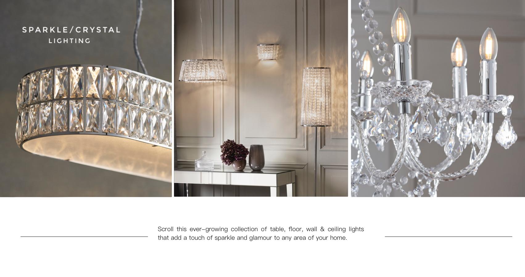 Crystal Ceiling Lights UK