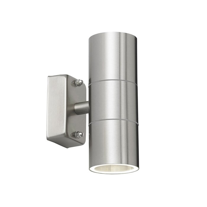 Modern Stainless Up & Down Outdoor Wall Light