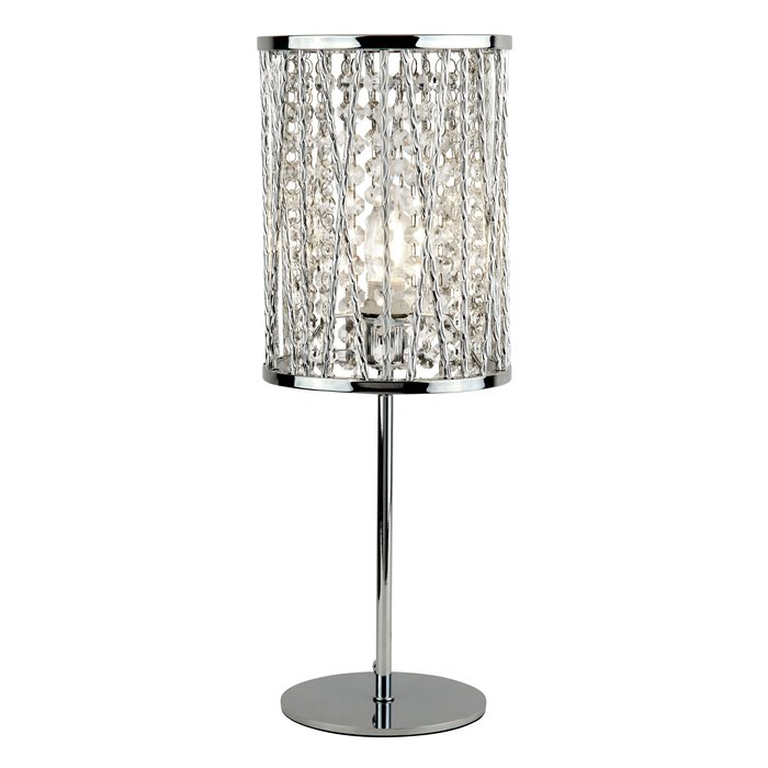Twist Sparkle Table Lamp - Polished Chrome