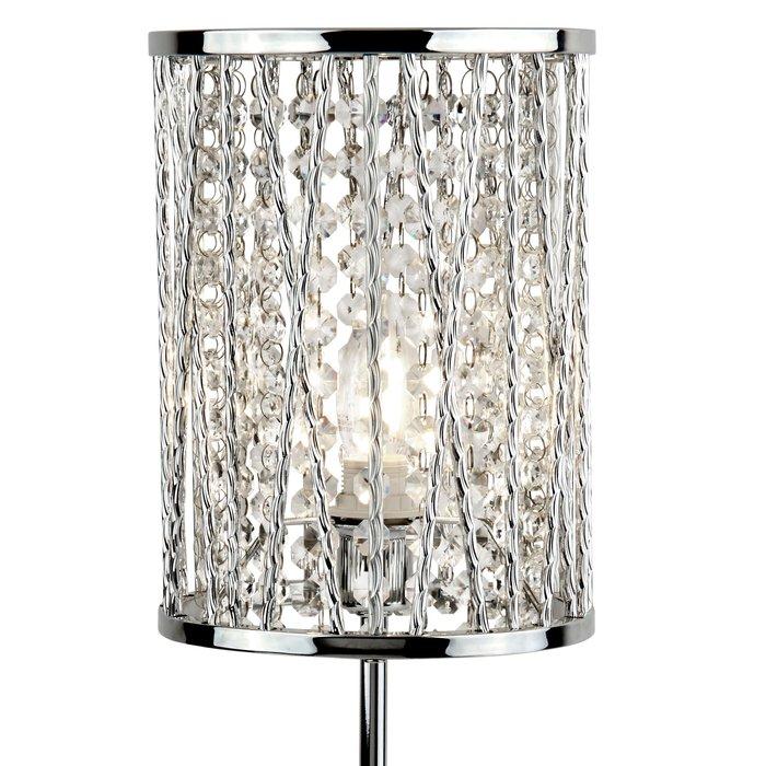 Twist Sparkle Table Lamp - Polished Chrome