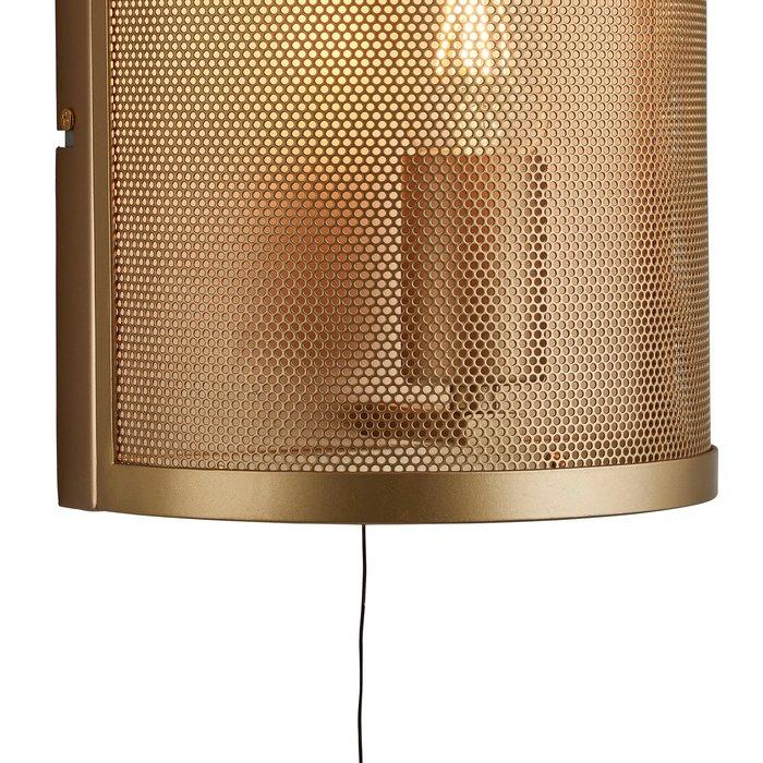 Mesh - Matt Gold Wall Light