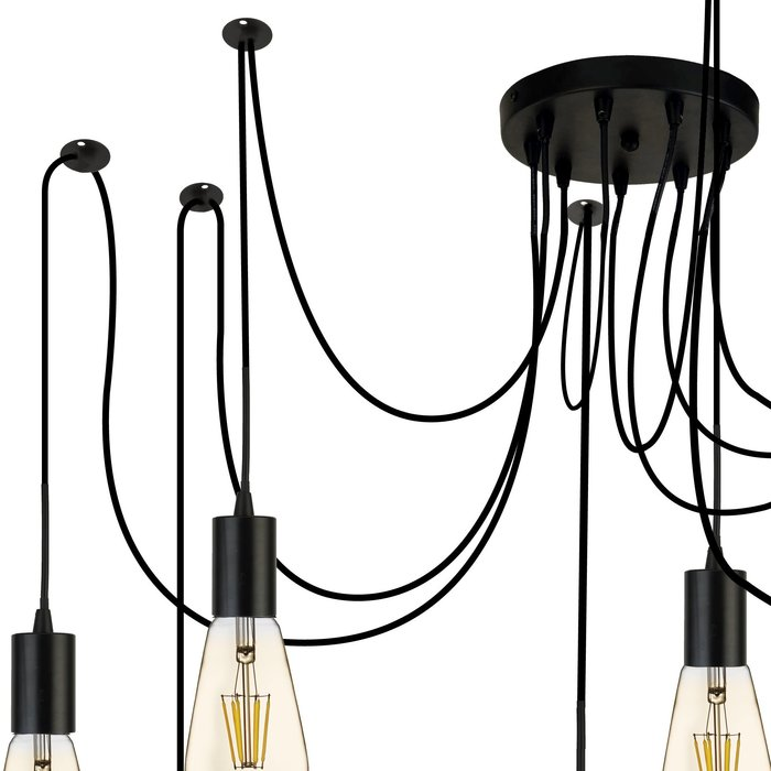 9 Light Industrial Cable Suspension Kit