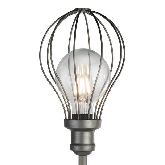 Indust - Cage Table Lamp - Pewter