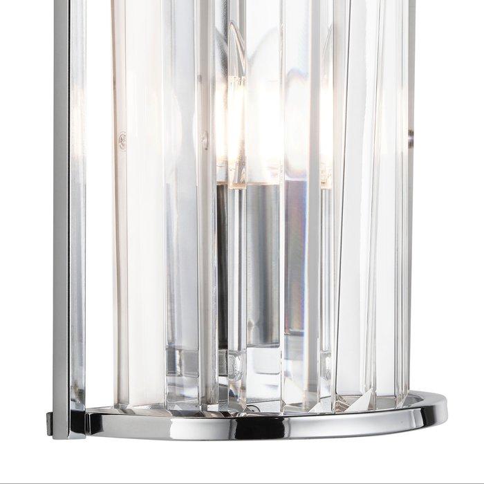 Elizabeth - Art Deco Crystal Wall Light - Chrome