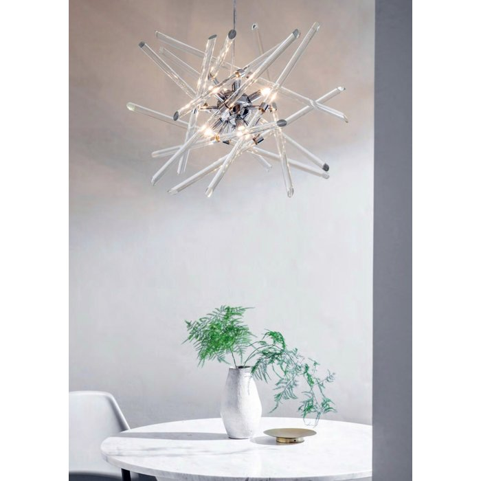 Atom - Clear Glass Feature Light