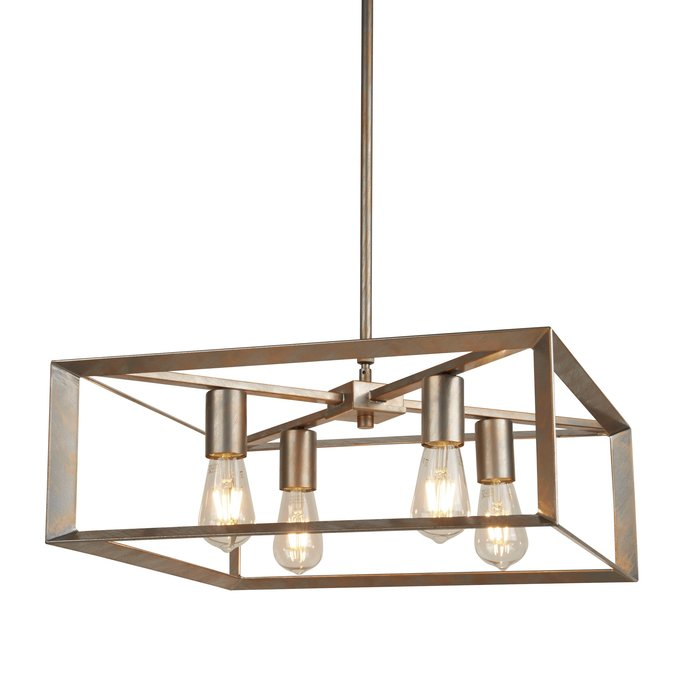 Keaton - Industrial Cage Pendant Light