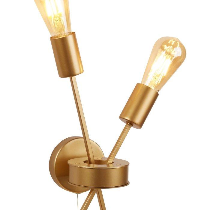 Romeo - Matt Gold Stick Wall Light