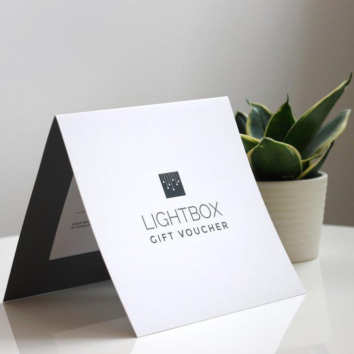Lightbox Gift Voucher