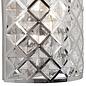 Houston - Glass & Polished Chrome Flush Wall Light