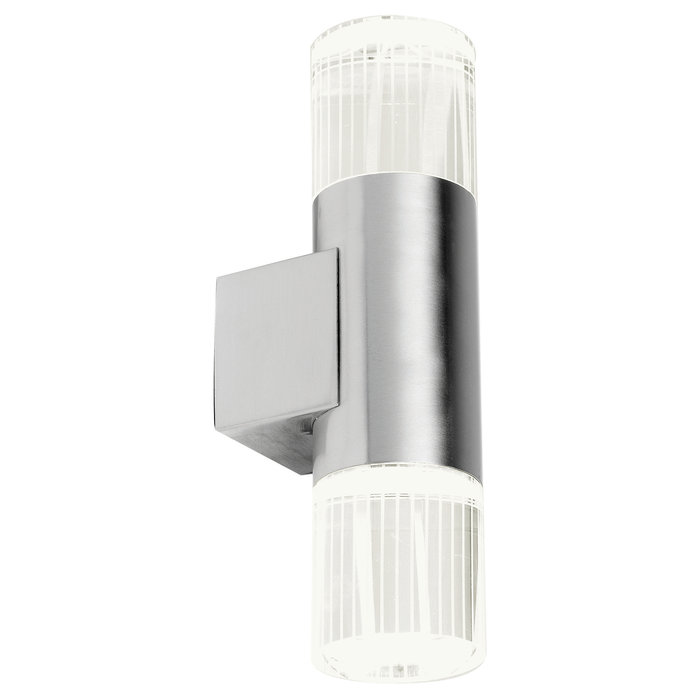Mitchell - Stainless Steel Twin Modern Outdoor Wall Light