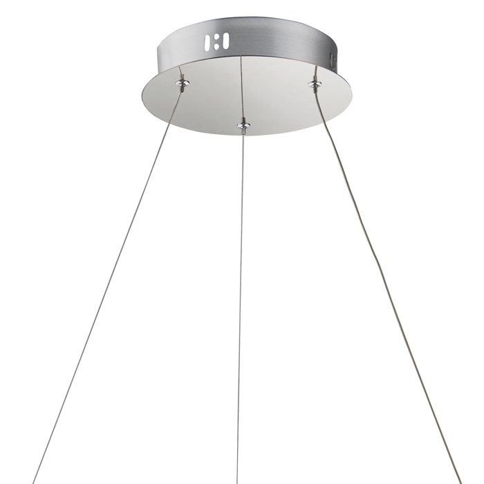 Houston - Clear Crystal & Chrome Plate LED Pendant