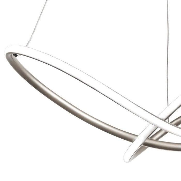 Illusion - Satin Silver LED Feature Light