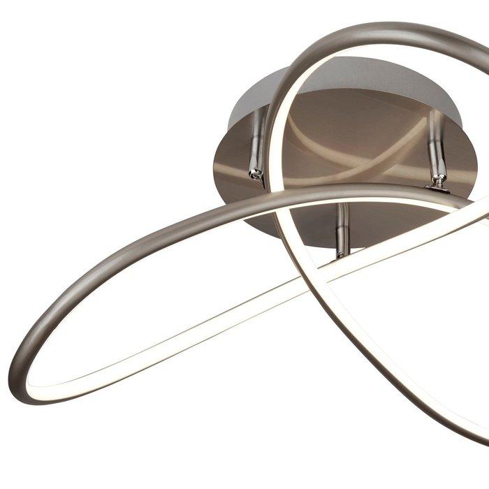 Illusion - Satin Silver Flush LED Light