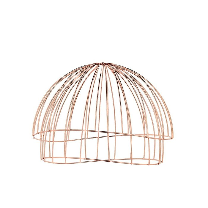 Modern Copper Wire Easy Fit Shade