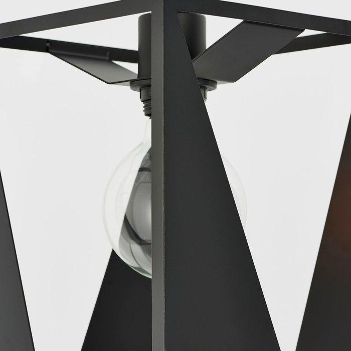 Urban Cut Out Black Pendant