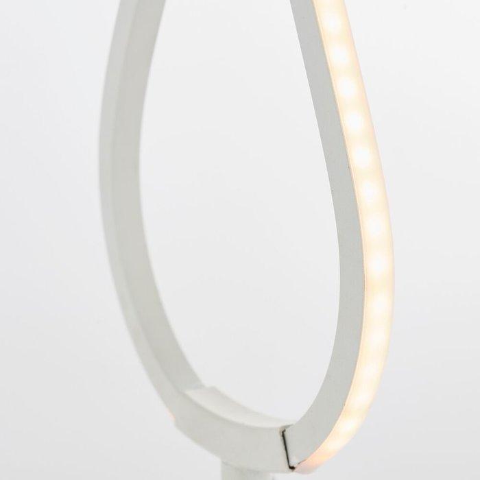 Loop - LED Table Lamp - Matt White