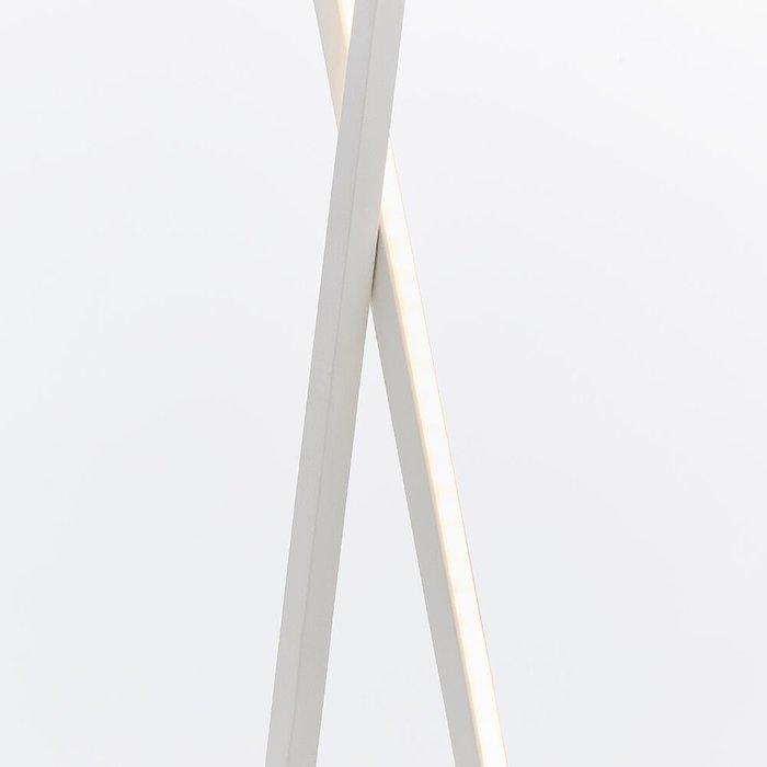 Loop - LED Floor Lamp - Matt White