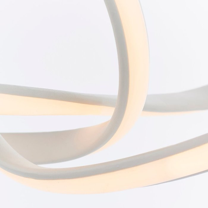 Loop - LED Feature Pendant - Matt White