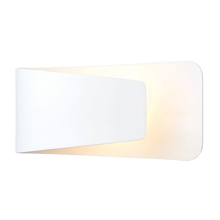 LED Matt White Wall Light