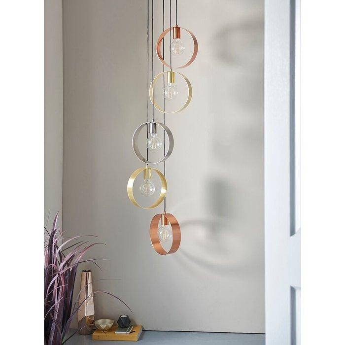 Hoop - 5 Light Minimalist Cluster Pendant