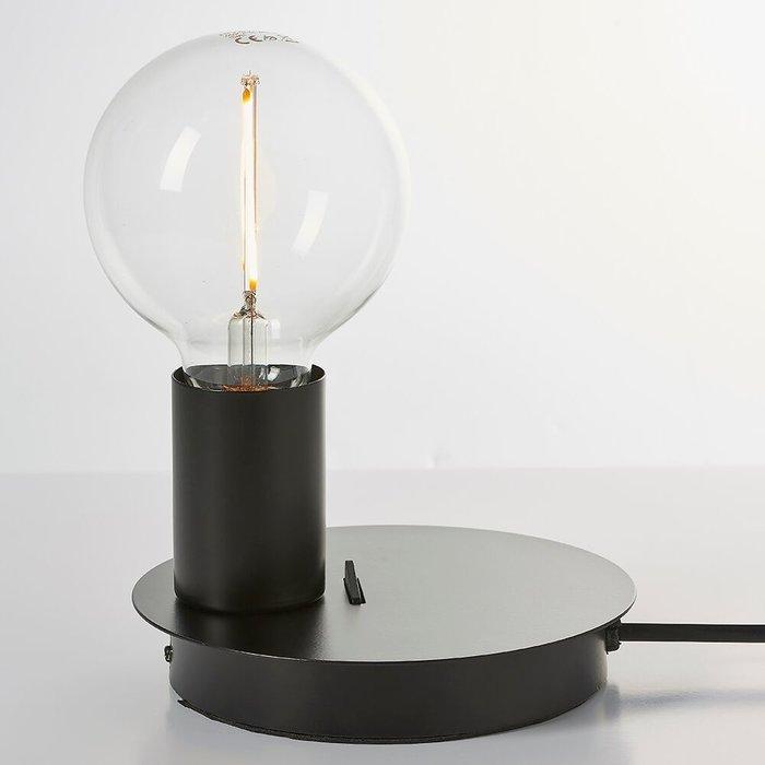 Black USB Mini Table Lamp