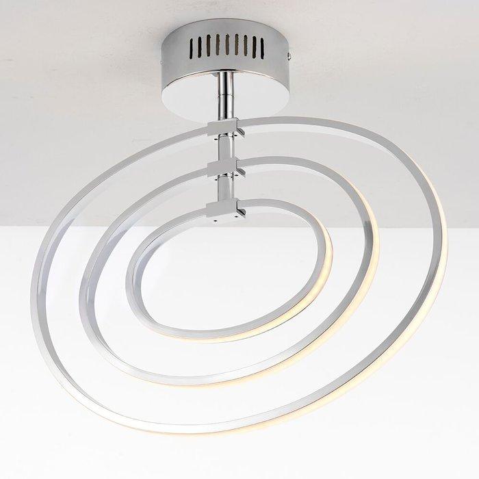 LED Hoop Semi Flush Ceiling Light