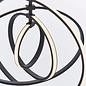 Black LED Hoop Feature Pendant
