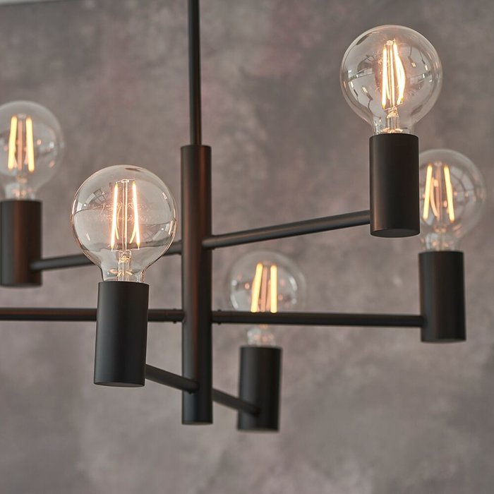 Loft - Black Industrial Feature Light