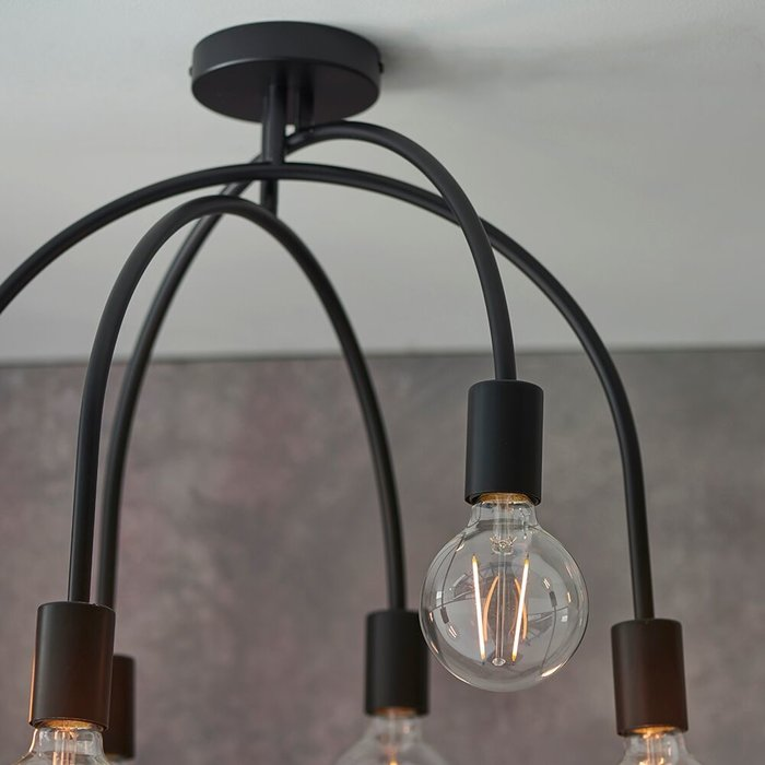 Loft - Multi Arch Industrial Ceiling Light