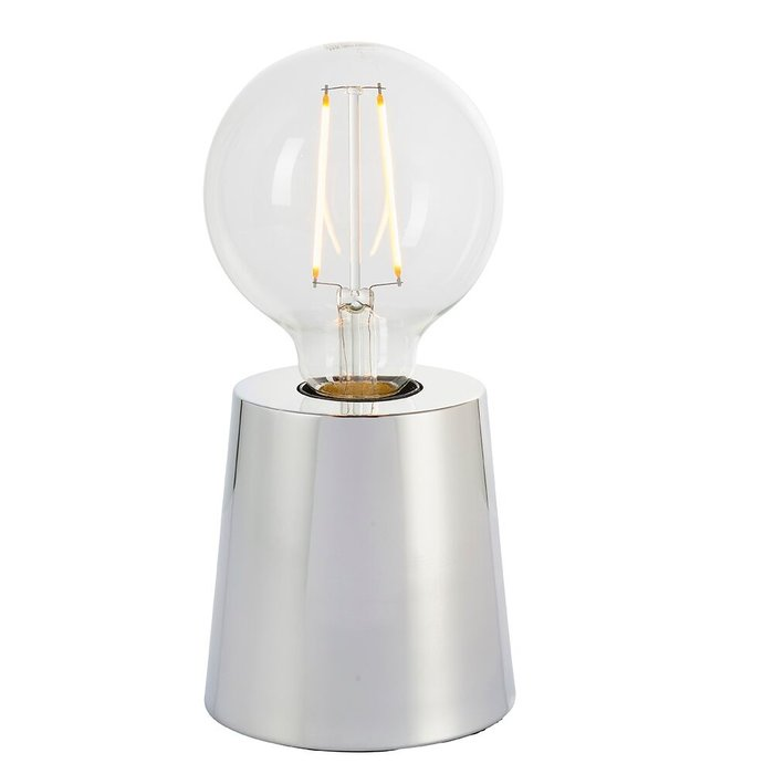 Chrome Mini Table Lamp Base