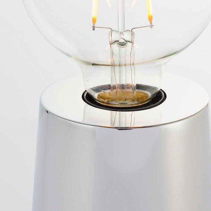 Chrome Mini Table Lamp Base