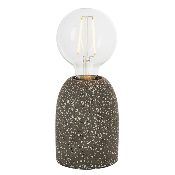 Dark Terrazzo Table Lamp
