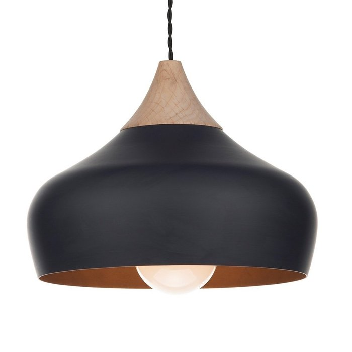 Matt Black Pendant