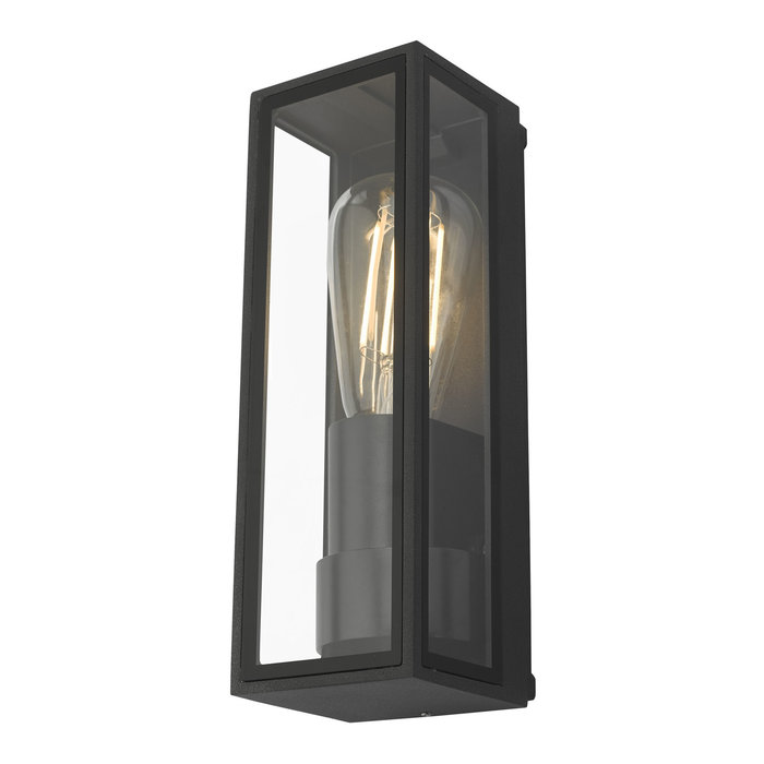 Box - Black Industrial Wall Light - IP65