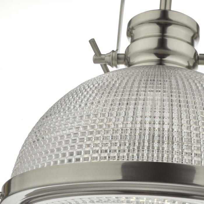 Brook - Large Industrial Glass Pendant