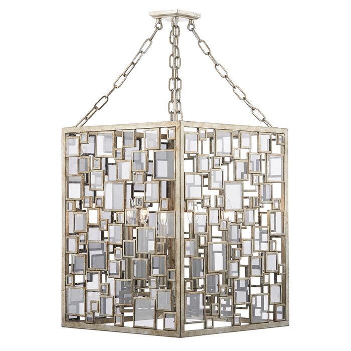 Foyer - Antique Silver Large Feature Lantern