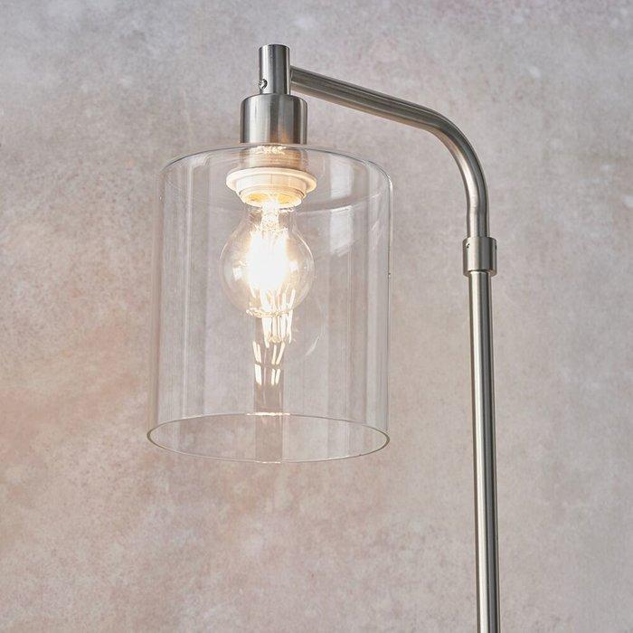 Niko - Minimalist Floor Lamp - Brushed Nickel