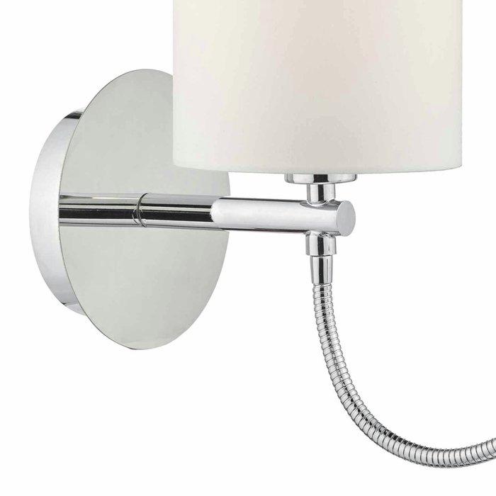 Hotel - LED Dual Light Bedside Reader Wall Light - Polished Chrome