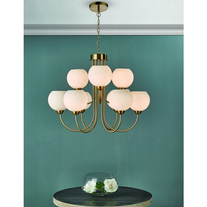 Inda - Large Mid Century Feature Light