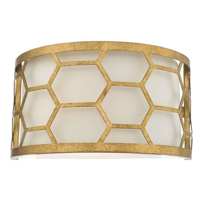Esteem - Modern Gold Leaf Wall Light