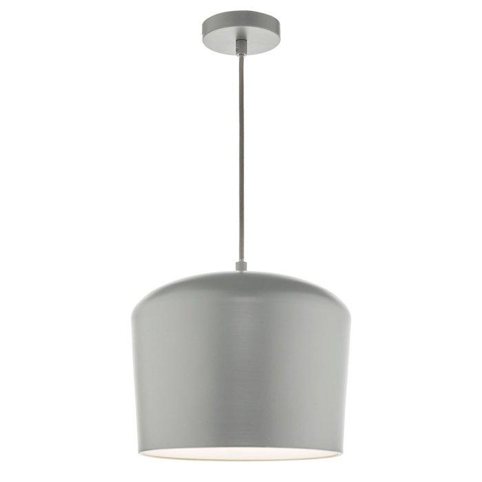 Satin Grey Minimalist Pendant