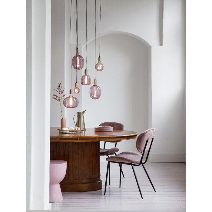 Quartz Pink Giant LED Feature Light Bulb