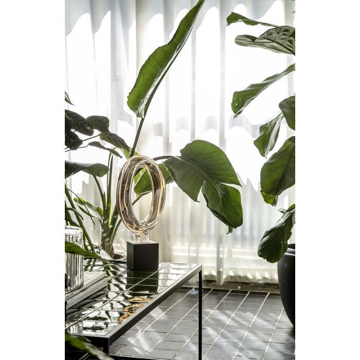 Decorative Hoop LED Light Bulb - Titanium