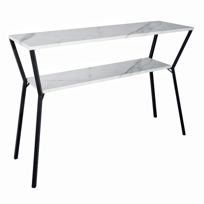 Demeter - White Marble Console Table