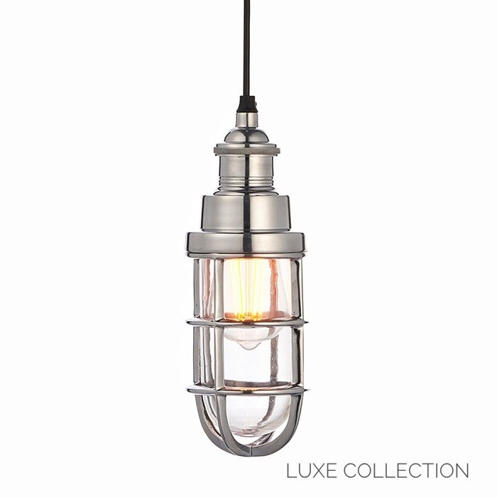 Epsom - Heavy Cast Industrial Cage Pendant